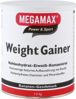WEIGHT-GAINER-Megamax-Banane-Pulver